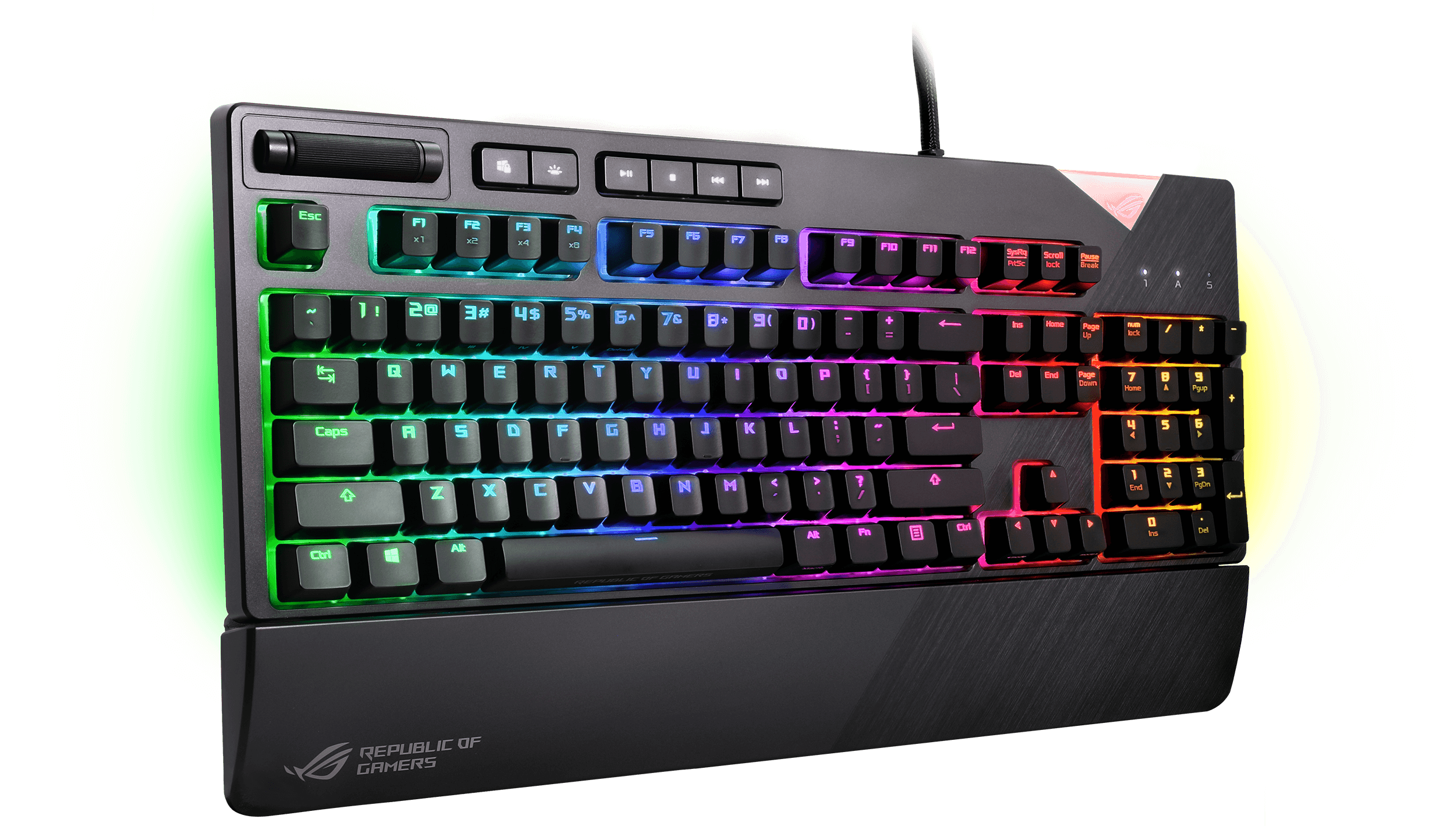 ROG Strix Flare 3D 1 S - ASUS ROG Strix Flare Mechanical Gaming Keyboard Now Available in PH