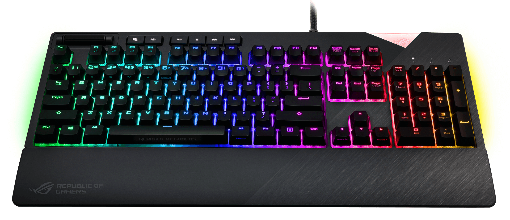 ROG Strix Flare 3D 4 - ASUS ROG Strix Flare Mechanical Gaming Keyboard Now Available in PH