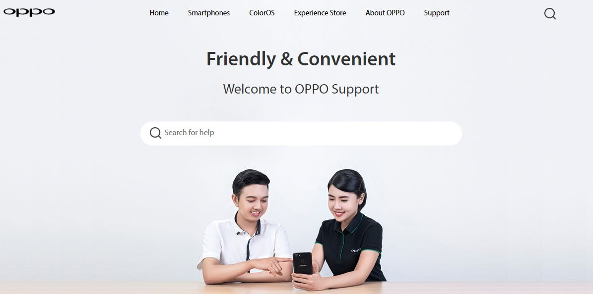 OPPO Online Support 1