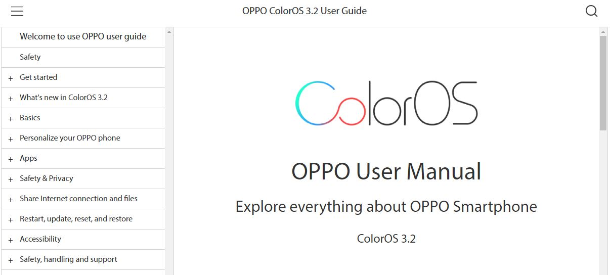 OPPO Online Support 9