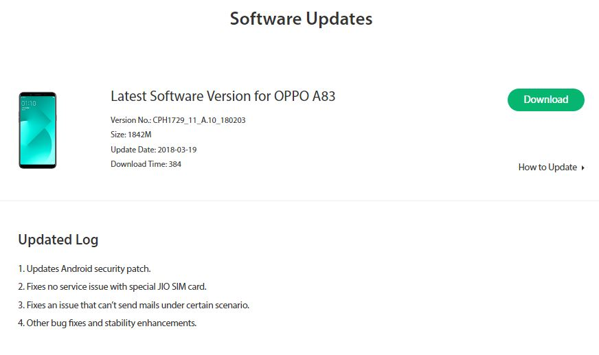 OPPO Online Support 5