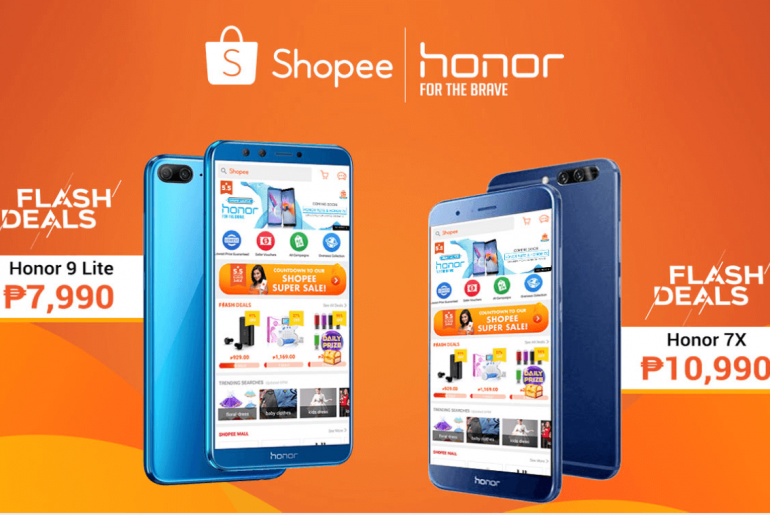 honor shopee
