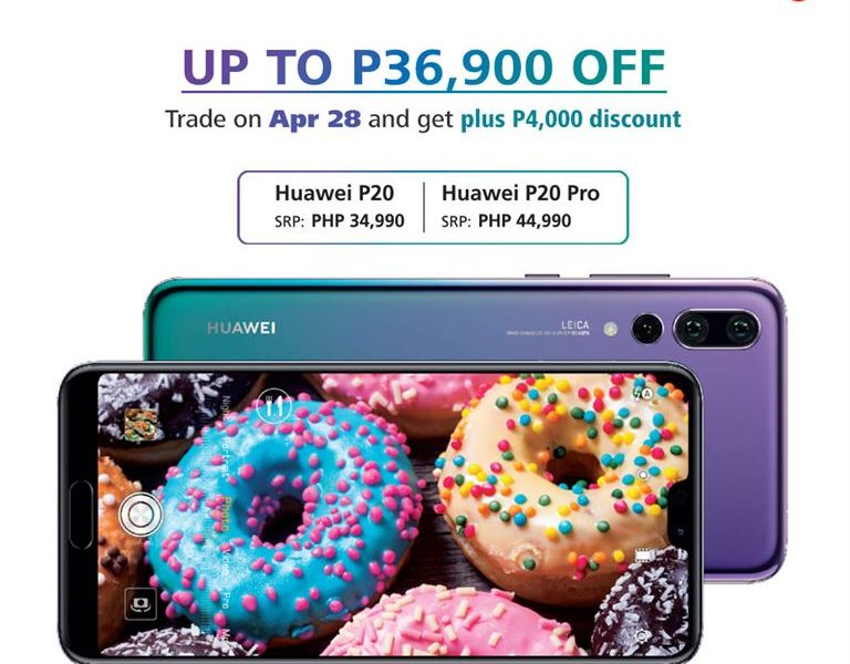 Huawei Announces Trade-In Promo for P20 and P20 Pro!