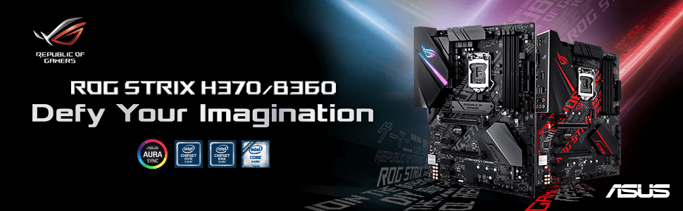 Intel Coffee Lake, ASUS Announces H370, B360 and H310 Motherboards for Intel Coffee Lake CPUs, Gadget Pilipinas