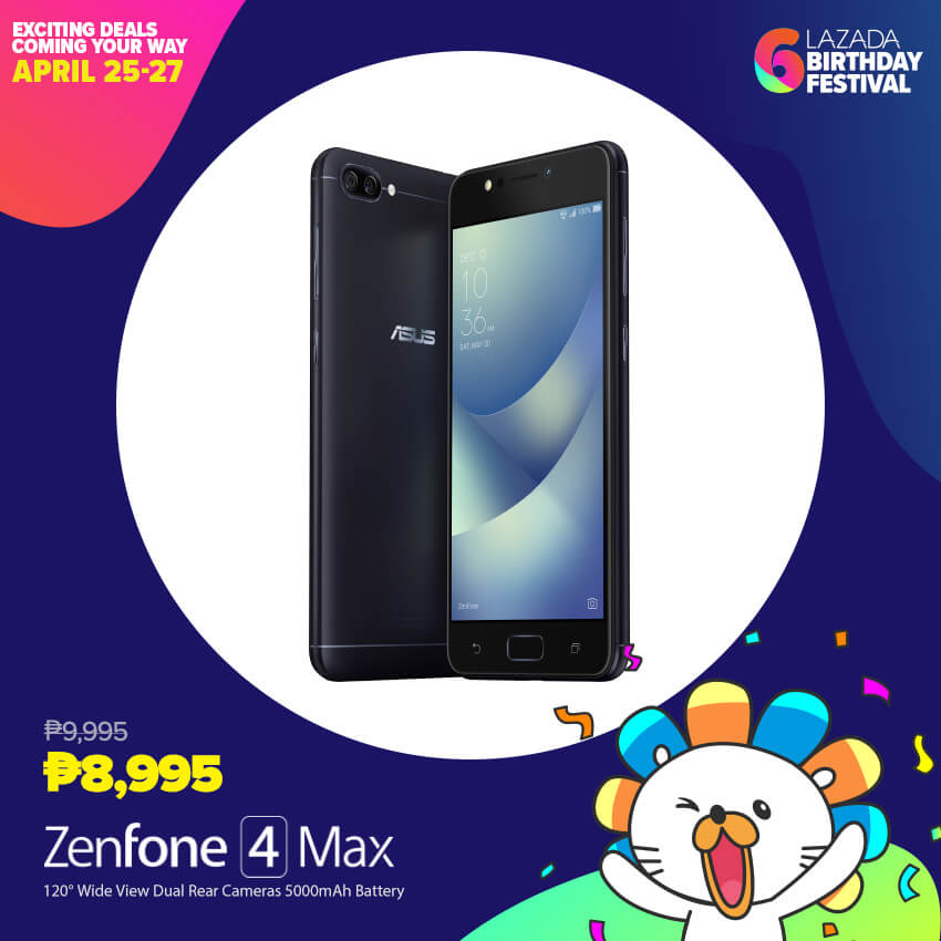 asus lazada, ASUS Joins Lazada in Celebration of its 6th Birthday Festival, Gadget Pilipinas