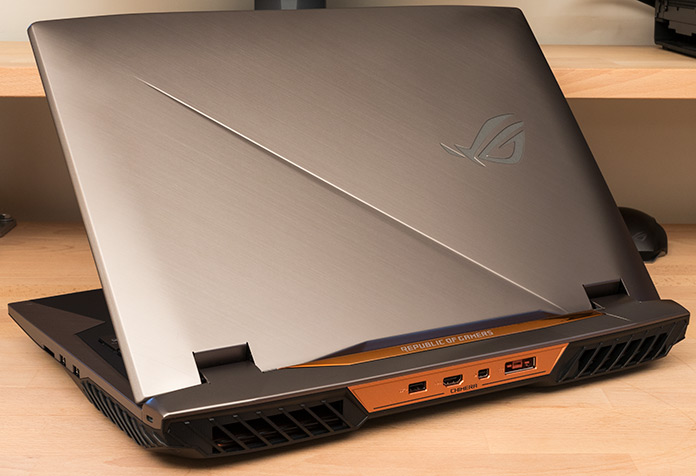 g703 lid - ASUS ROG Announces Chimera G703 Gaming Laptop with a Core i9 Processor