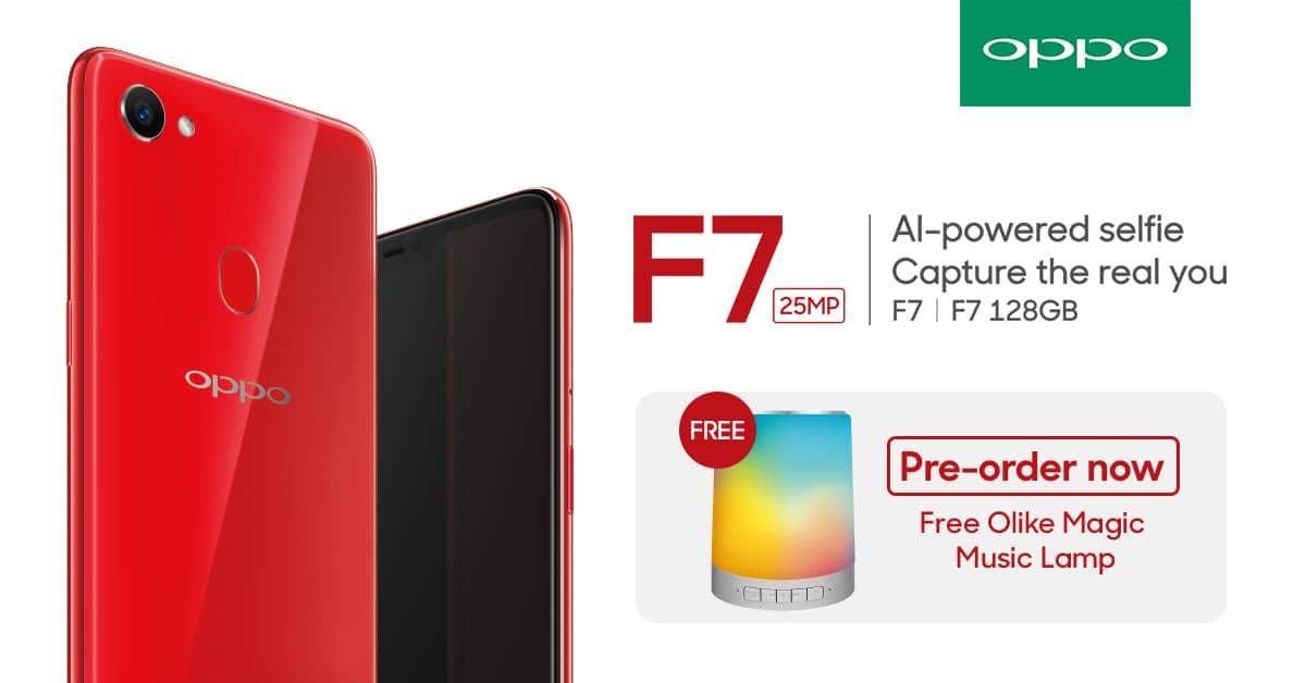 oppo f7, OPPO F7 Pre-Order Details Revealed, Priced at PhP17,990!, Gadget Pilipinas, Gadget Pilipinas