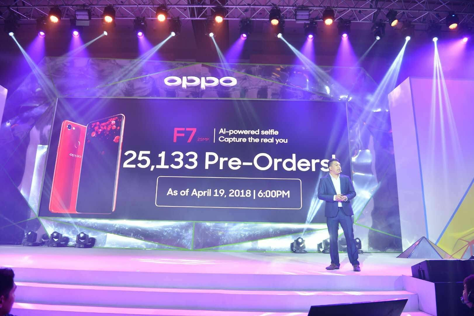 oppo f7, OPPO F7 Receives More Than 25,000 Pre-Orders, Gadget Pilipinas, Gadget Pilipinas