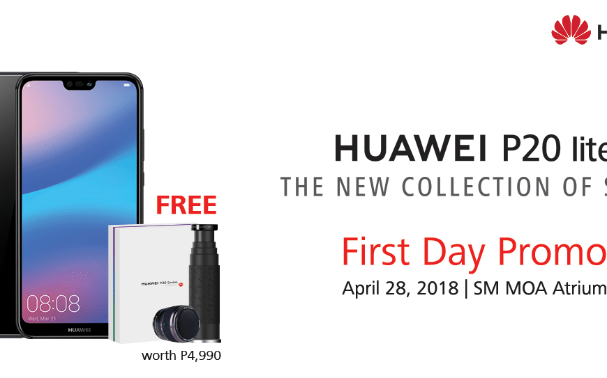 Get Exciting Freebies When You Buy a Huawei P20 Lite on April 28!