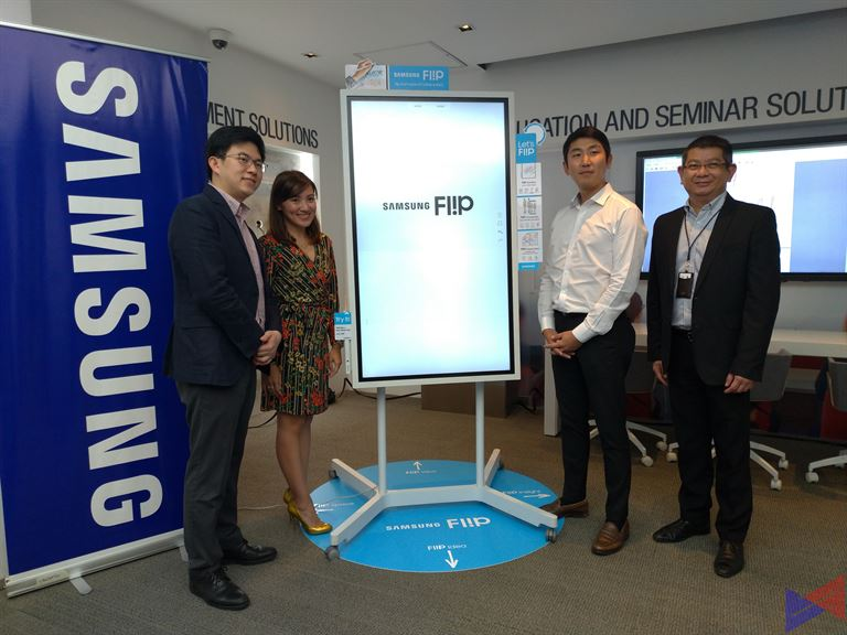 The Samsung Fl!p is a Digital Board Built for Collaboration