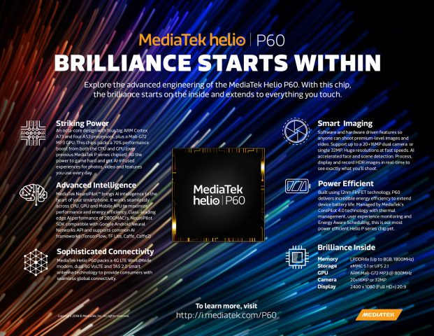 What's to like about OPPO F7's Mediatek Helio P60 SoC?