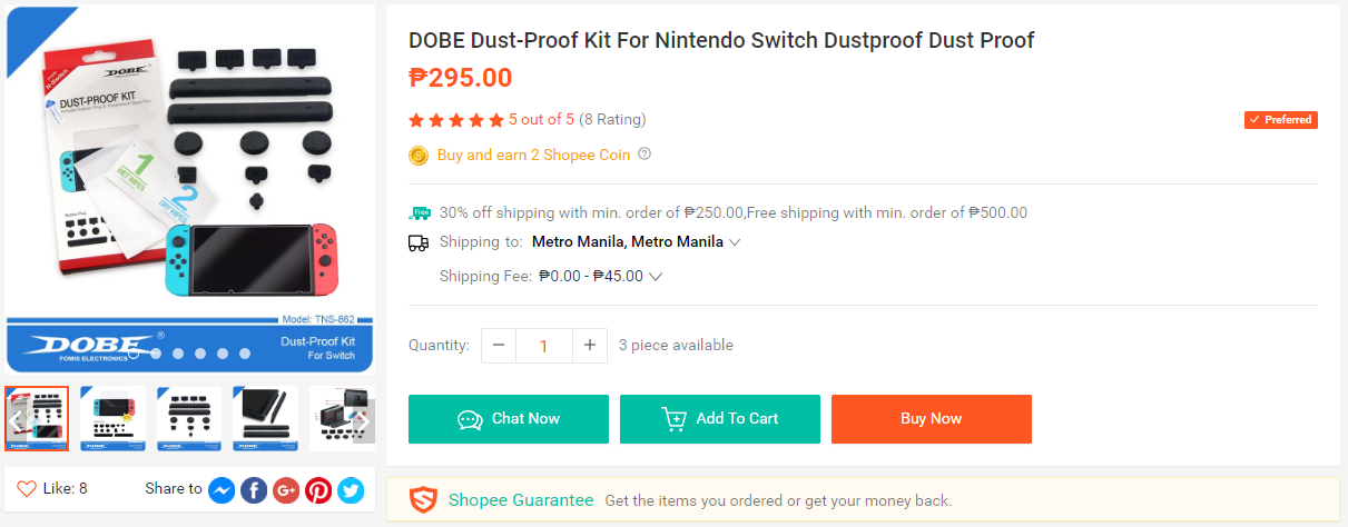 2 - 10 Things Every Gamer Should Buy at Shopee