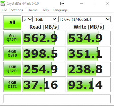 CrystalDisk - WD BLUE 3D NAND SSD Review: Impressive storage performance in a budget package