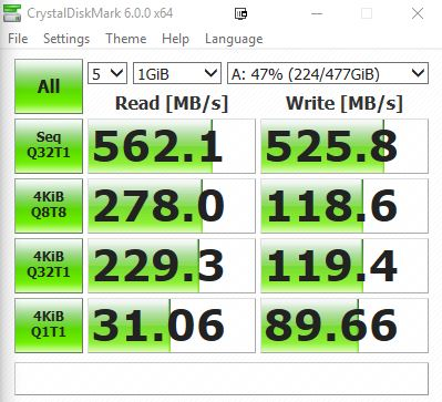 CrystalDiskMark - WD BLUE 3D NAND SSD Review: Impressive storage performance in a budget package