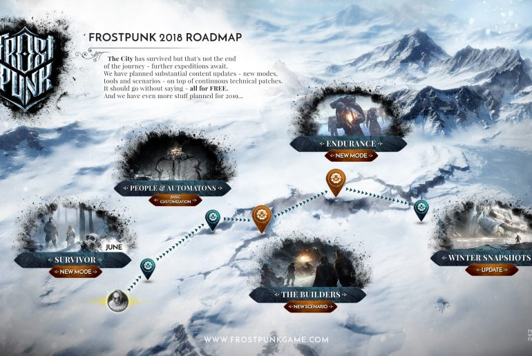 Frostpunk 770x515 - Frostpunk Developers detail 2018 roadmap, reveal free downloadable contents