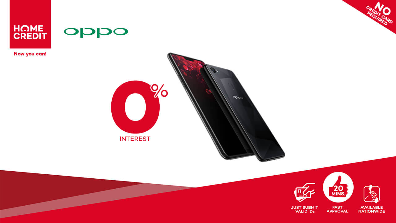 oppo home credit, OPPO F7 and F7 Youth Now Available via Home Credit's 0% Interest Plans!, Gadget Pilipinas