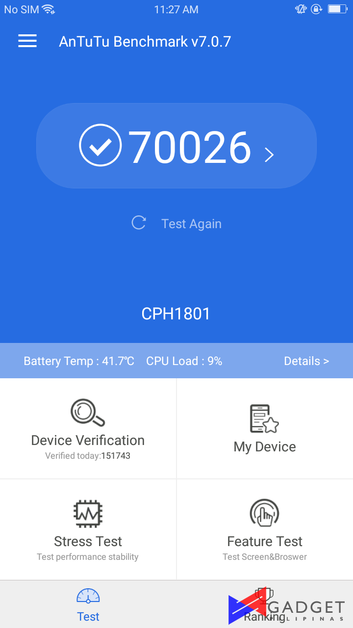 Oppo A71 2018 Review Gadget Pilipinas Blue