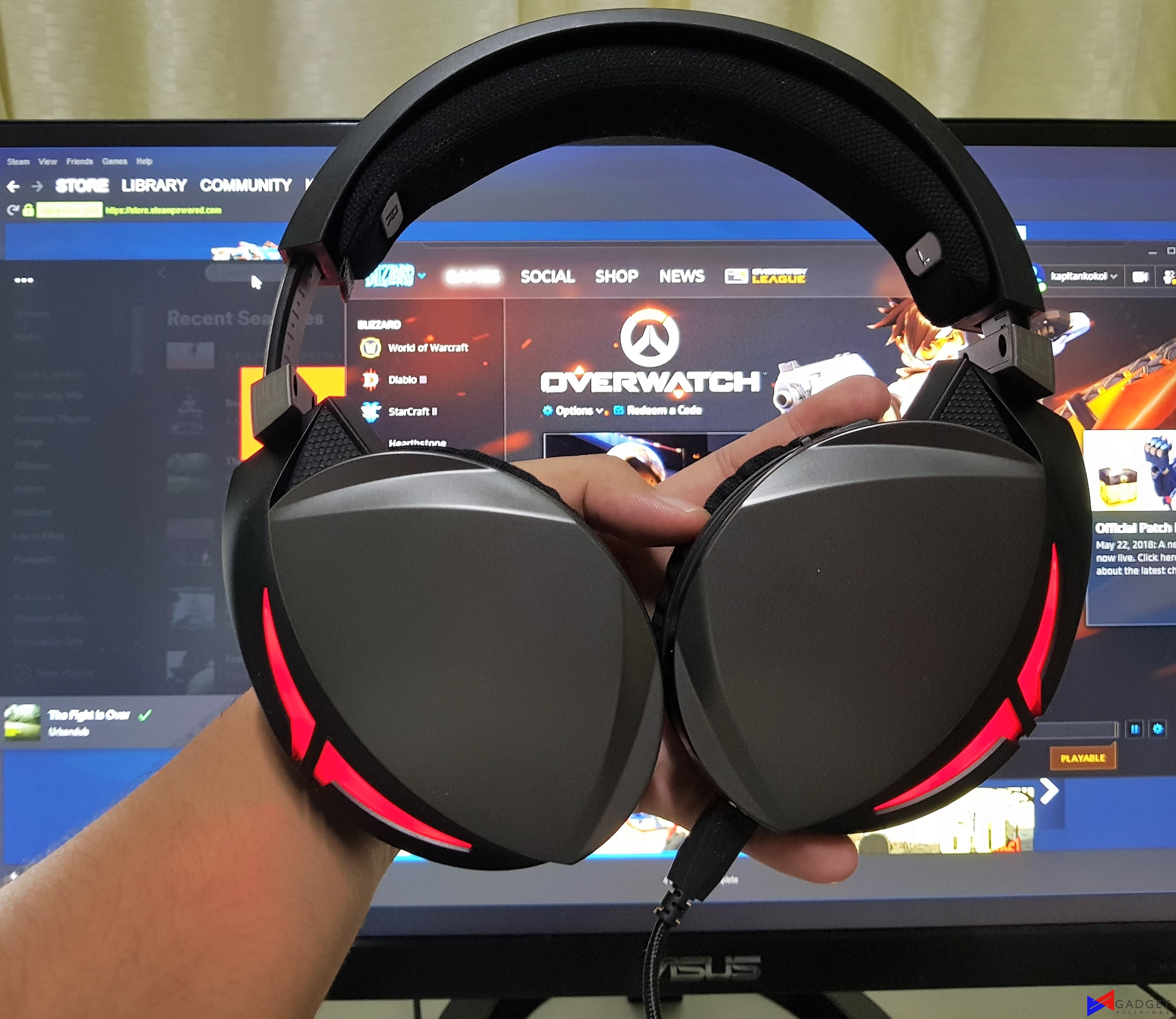 ASUS ROG Strix Fusion 300 Gaming Headset Review – Gadget