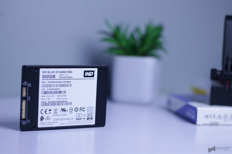 Wd Blue 3d Nand Ssd Review Impressive Storage Performance In A