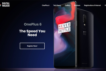 oneplus 6 digital walker