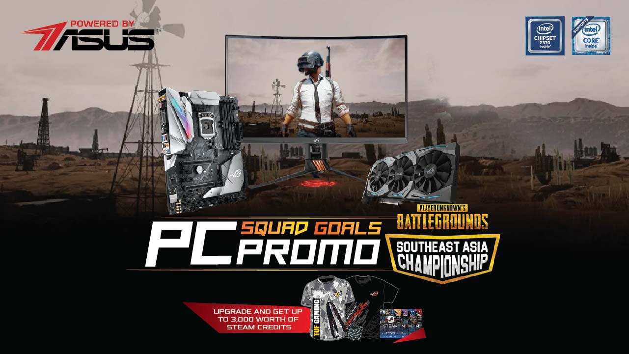 rog steam, Get FREE Steam Credits With Every Purchase of an ASUS ROG Component Bundle!, Gadget Pilipinas, Gadget Pilipinas