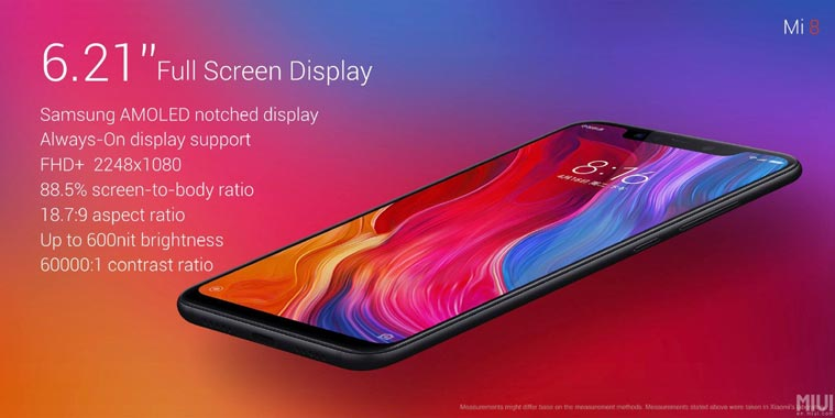 xiaomimi8 new 1 - Xiaomi Mi 8 with Snapdragon 845 and AI-Assisted Optics Now Official!