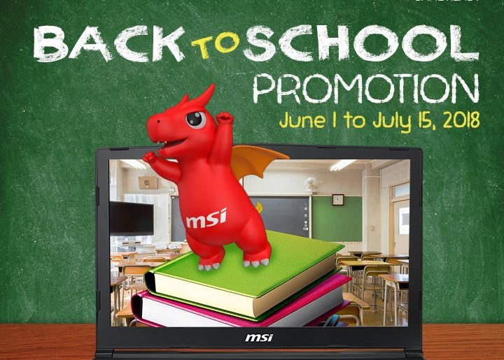 June is one of best months to buy an MSI Laptop