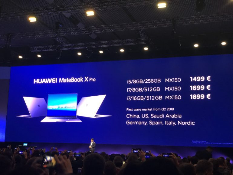 Huawei Matebook X Pro will officially come to PH this year