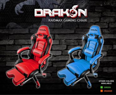 drakon 1 1 370x305 - Raidmax Drakon Gaming Chairs Now Available in PH