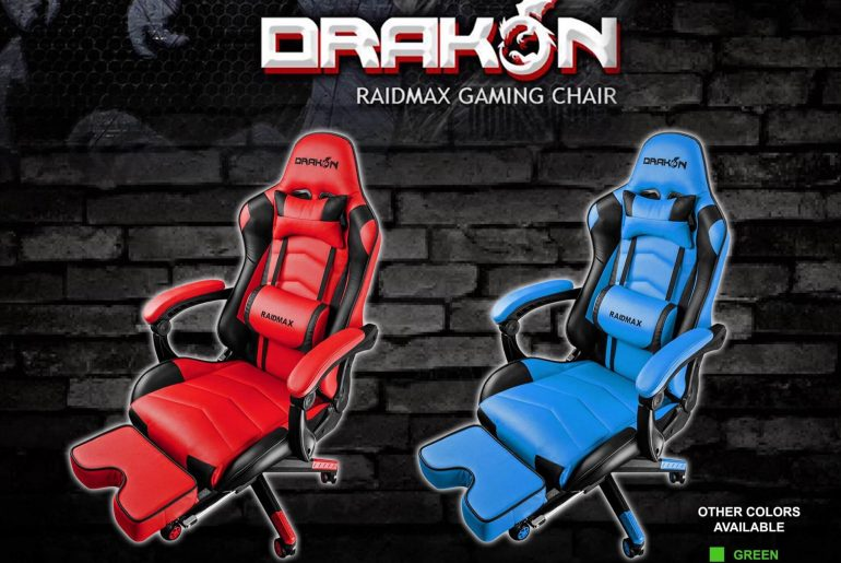 Raidmax Drakon Gaming Chairs Now Available in PH