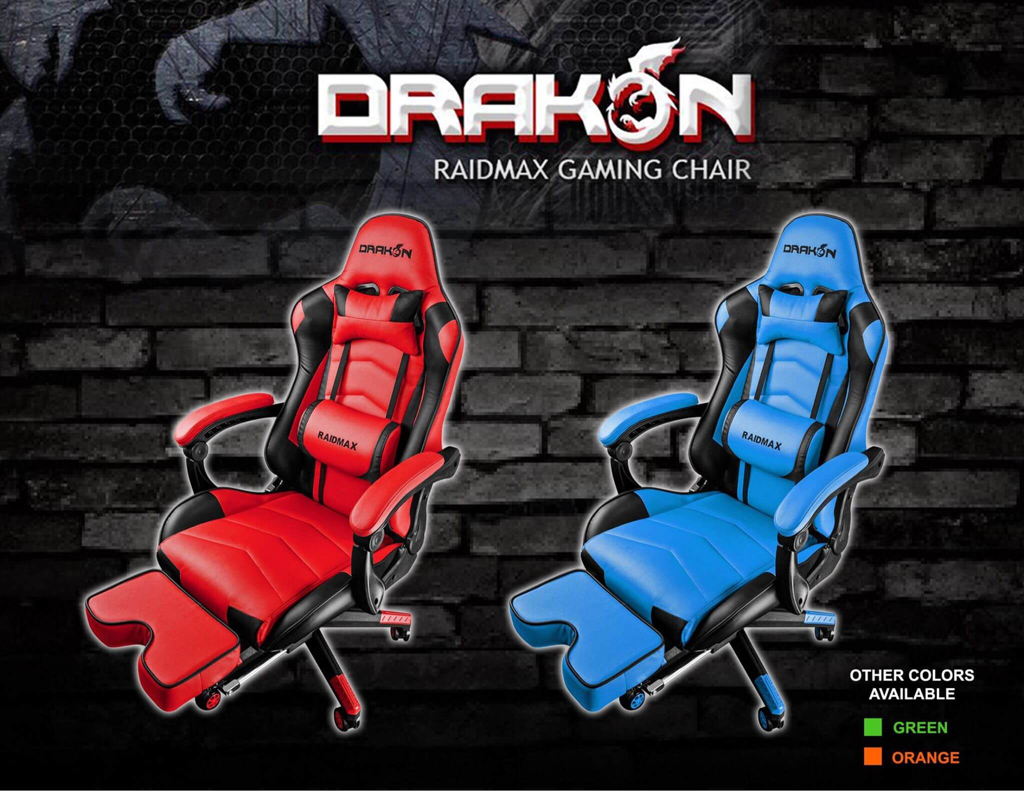 drakon 1 1 - Raidmax Drakon Gaming Chairs Now Available in PH