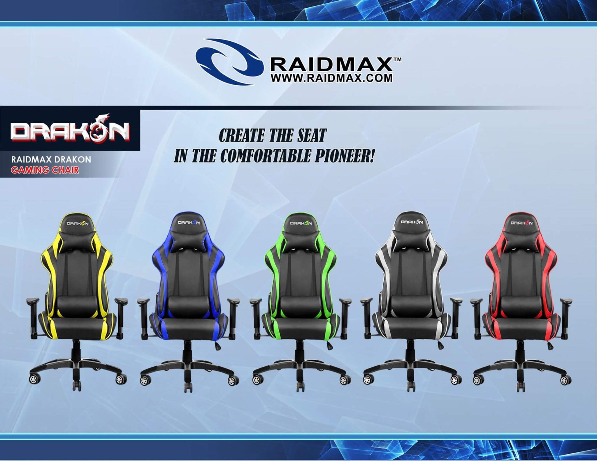 drakon 1 2 - Raidmax Drakon Gaming Chairs Now Available in PH