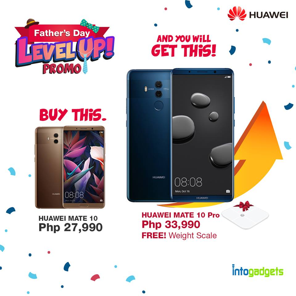 huawei level up promo
