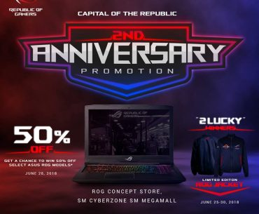 rog 2nd annive 370x305 - Get a Chance to Win 50% Off an ROG Notebook with the Capital of the Republic's 2nd Anniversary Promo!