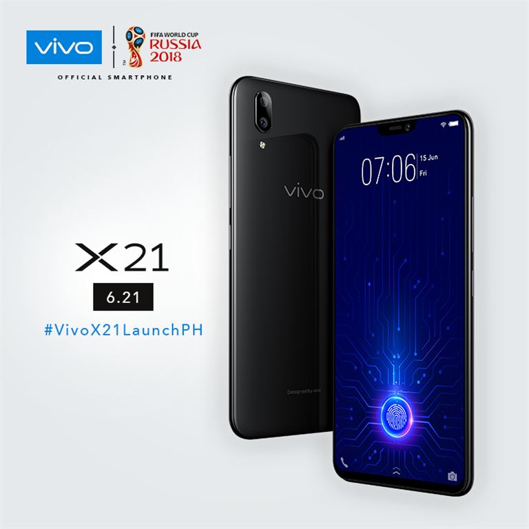 Vivo X21 to Officially Launch in PH Today