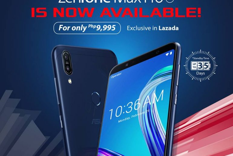 ASUS Zenfone Max Pro M1 Now Available in Lazada!