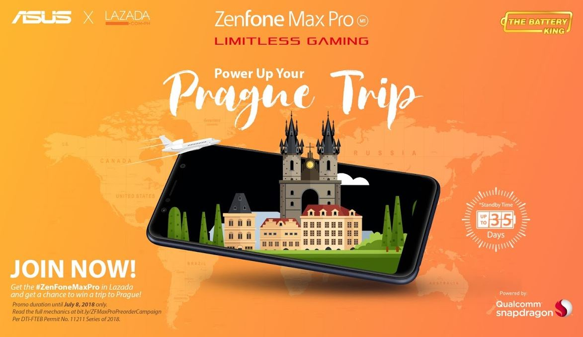 zenfone max pro prague - ASUS Zenfone Max Pro M1 Now Available in Lazada!
