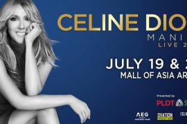 Celine Dion Live in Manila 2 270x180 - Get a Chance to Win FREE Tickets to Celine Dion's First-Ever Manila Concert from PLDT Home and Smart!