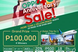 Gadget Pilipinas OPPO4U 270x180 - Get a Chance to Win an OPPO A83 with our OPPO4U Giveaway!