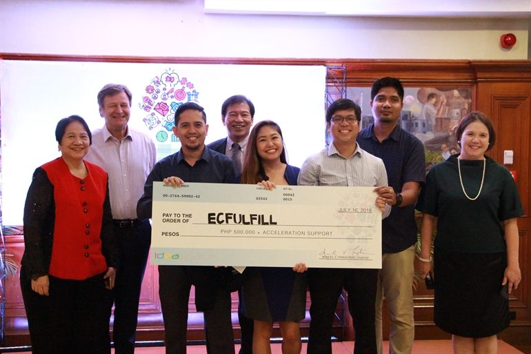 6 among 12 startup entries win Ideaspace 2018 competition
