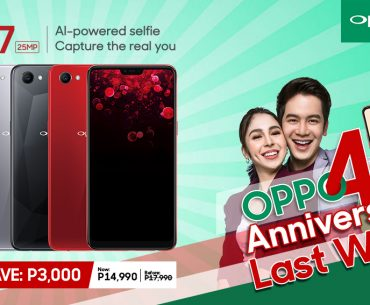 OPPO F7 price drop 370x305 - OPPO F7 Now Priced at PhP14,990!