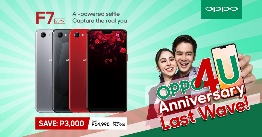 oppo f7, OPPO F7 Now Priced at PhP14,990!, Gadget Pilipinas