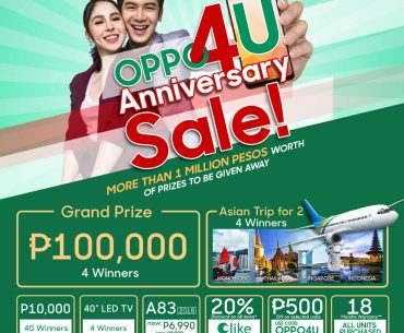 OPPO4U main poster July 3 370x305 - OPPO Announces OPPO4U Anniversary Sale for July!