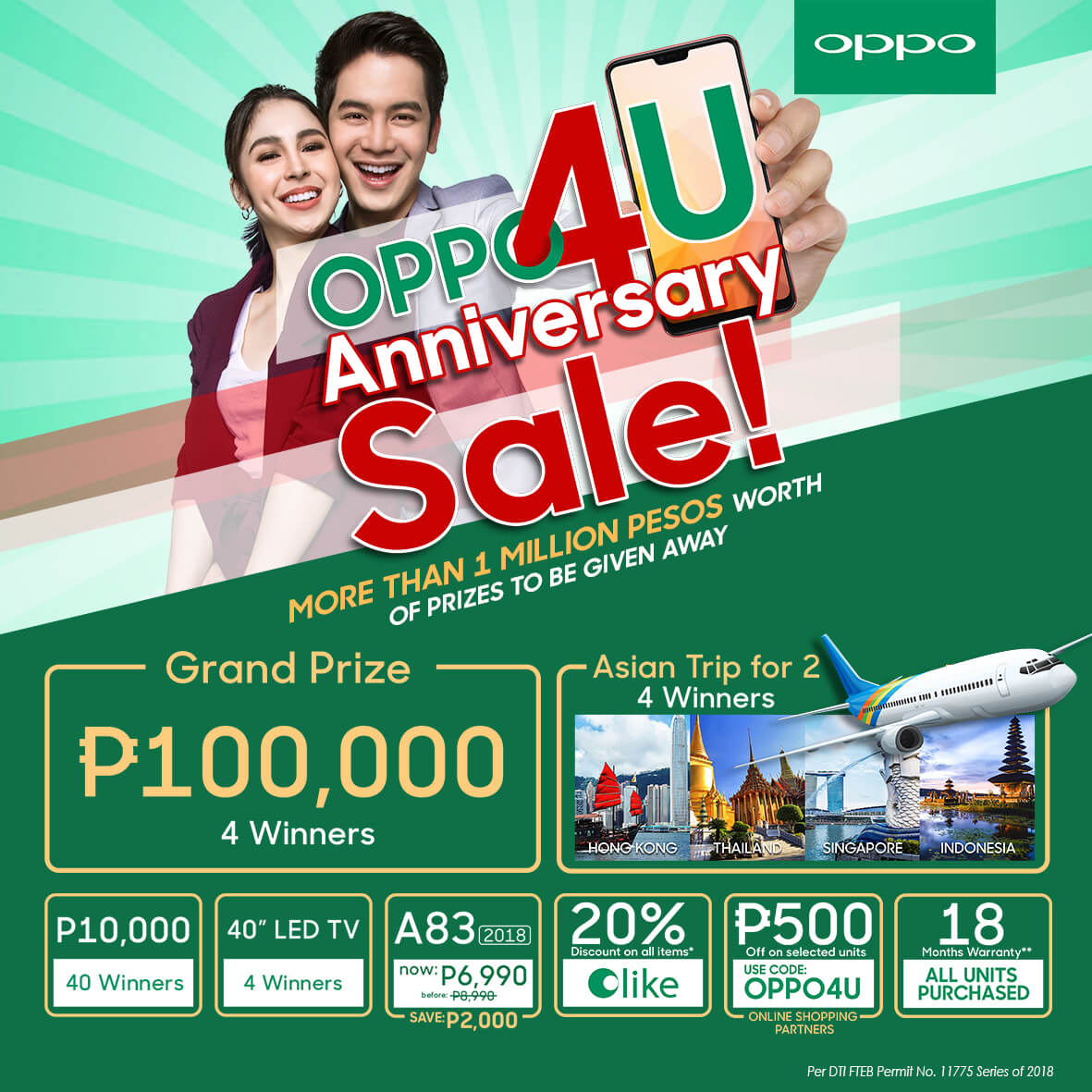 OPPO4U main poster July 3 - OPPO Announces OPPO4U Anniversary Sale for July!