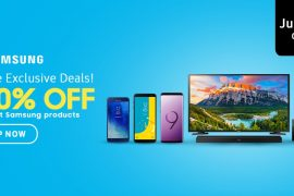 Samsung Day Banner 270x180 - Get up to 50% Off on Selected Samsung Products in Lazada Only for Today!