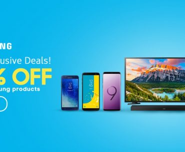 Get up to 50% Off on Selected Samsung Products in Lazada Only for Today!