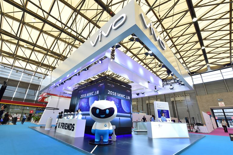 Vivo booth at MWC Shanghai 2018 30 - Vivo Introduces New TOF 3D Sensing Technology at MWC Shanghai 2018