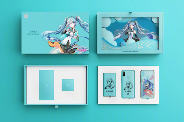 Xiaomi Mi 6X Hatsune Edition Launched 4 - Xiaomi Mi 6X Hatsune Miku Edition Officially Unveiled
