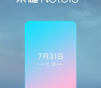 honor note 10 1 350x305 - Honor Note 10 to Launch in China on July 31