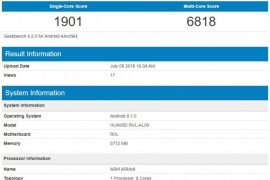honor note 10 270x180 - Honor Note 10 Spotted in Geekbench: Reveals Kirin 970 Chip